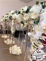 Centre de table gold rose 80cm mariage decoration landes gers