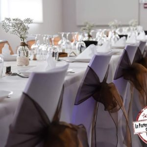 SEAD-Events-noeuds-de-chaise-chocolat-marron-décoration-mariage-mont-de-marsan-Pau