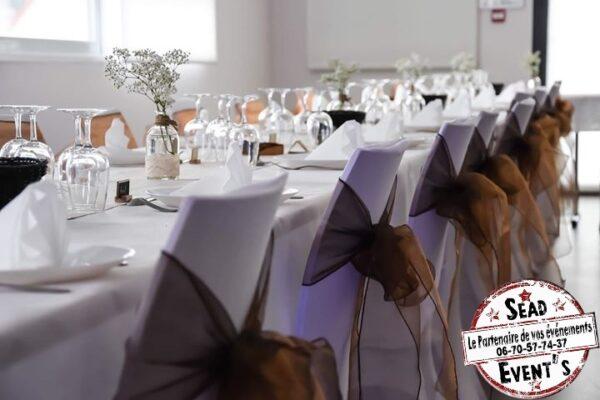 SEAD-Events-noeuds-de-chaise-chocolat-marron-décoration-mariage-mont-de-marsan-Pau