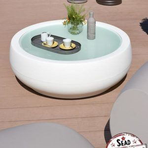 Slide design chubby table basse location