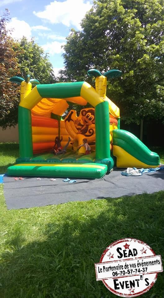 structure gonflable location landes mont de marsan chateau pour enfants