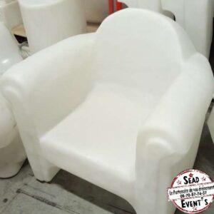 Fauteuil easy chair slide location landes gers mariage événement