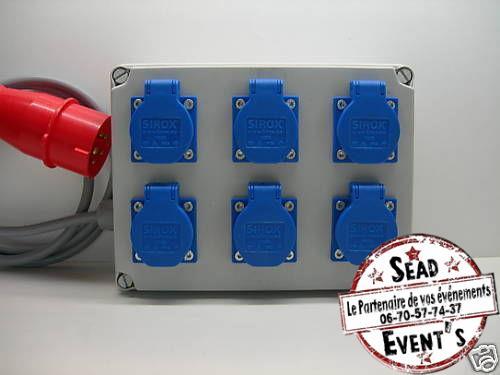 Boitier patch électrique en location