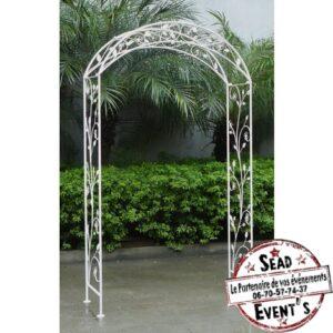 Arche pour cérémonie métallique