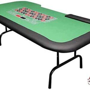 table de roulette pliante casino jeux vert rouge noir jetons pratique location landes événements réception thème anniversaire mont de marsan aquitaine landes