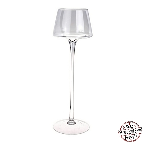 coupe verre 45cm vase location verrerie décoration location landes haut anniversaires cérémonies events événements mont de marsan pied