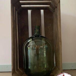 dame jeanne verte 20L location décoration tables vintage landes aquitaine bordeaux mont de marsan réceptions événements