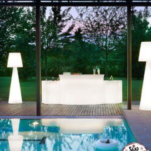 ice bar mobilier lumineux location soirée cocktails fraîcheur glaçons bouteilles landes frais piscine aquitaine mont de marsan