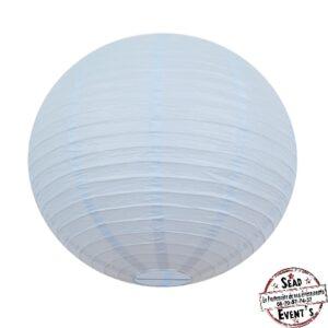 SEAD-Events-Location-lanternes-bleu pastel-plafond-boules-chinoises-mariage