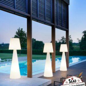 lampe slide pivot design lumineux mobiliers polyéthylène location anniversaire soirée mariage ambiance landes aquitaine mont de marsan