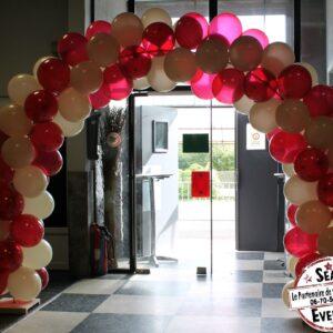 arche à ballons anniversaire garden reveal party baptème event soirée mariage location landes aquitaine