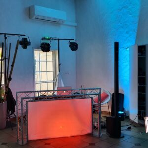 kit régie dj lumières son sonorisation éclairage soiree location event mariage anniversaire bapteme landes aquitaine