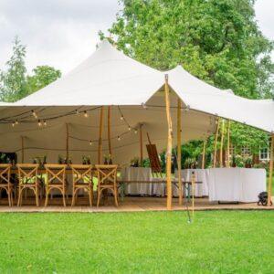 tente nomade couleur sable location antifongique poteaux bois réceptions landes exterieur event aquitaine sud